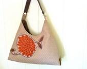 Orange Blossom Shoulder Bag