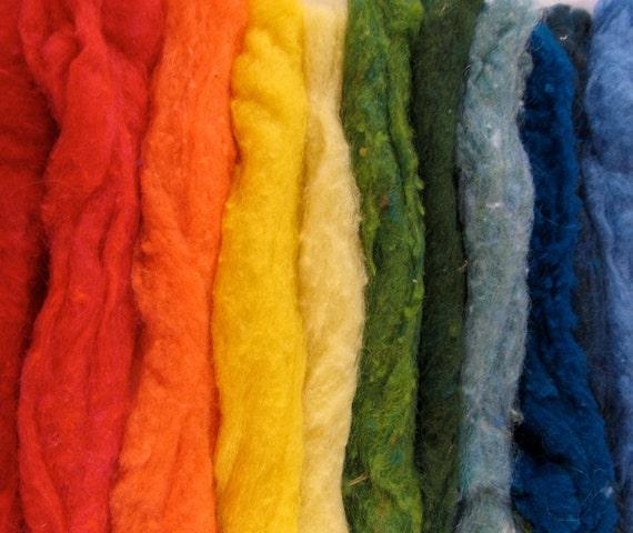 HUGE  Felting Wool Pack - 21 Colors