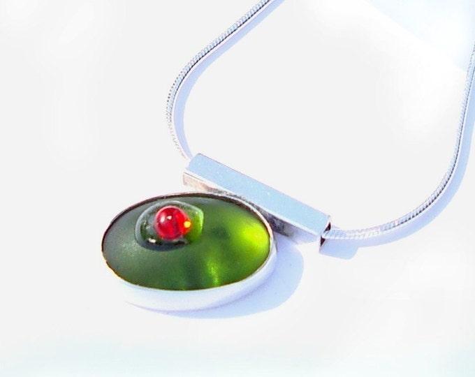 cocktail olive pendant