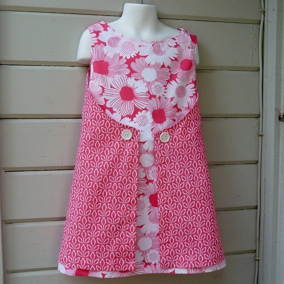 Wraparound Summer Dress for Girls Size 6 Special Introductory Pricing and Free Shipping