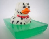 WoOf WoOf Dalmation Doggie Glycerin Soap Scented in Doggone Watermelon 4.3 oz Top Seller ThePrimPantry