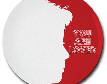 Custom Silhouette Plate made from your photo by Simply Silhouettes