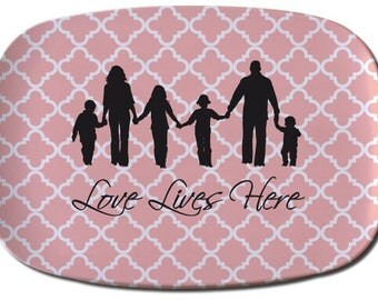 Custom Silhouette Tray made from your photo by Simply Silhouettes
