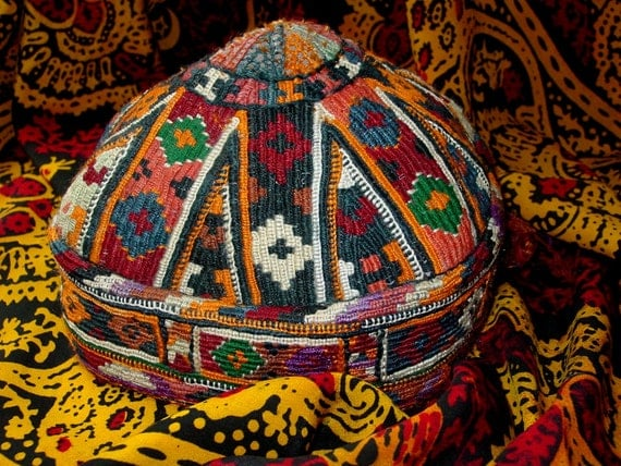Treasury Item Turkoman tribal hat