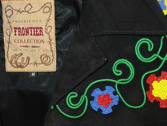 Vintage Phoenix USA Frontier Collection great western jacket