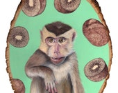 Monkey Trouble print 8x10