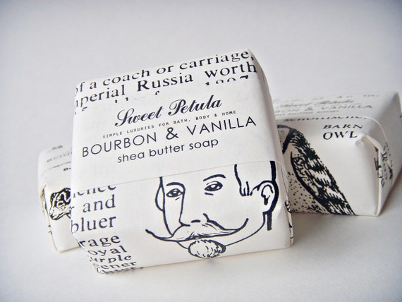 SALE - Bourbon & Vanilla Shea Butter Soap Bar