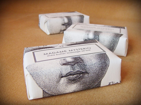 massage oil bar - madame mysterio - seductive and indulgent body oil bar