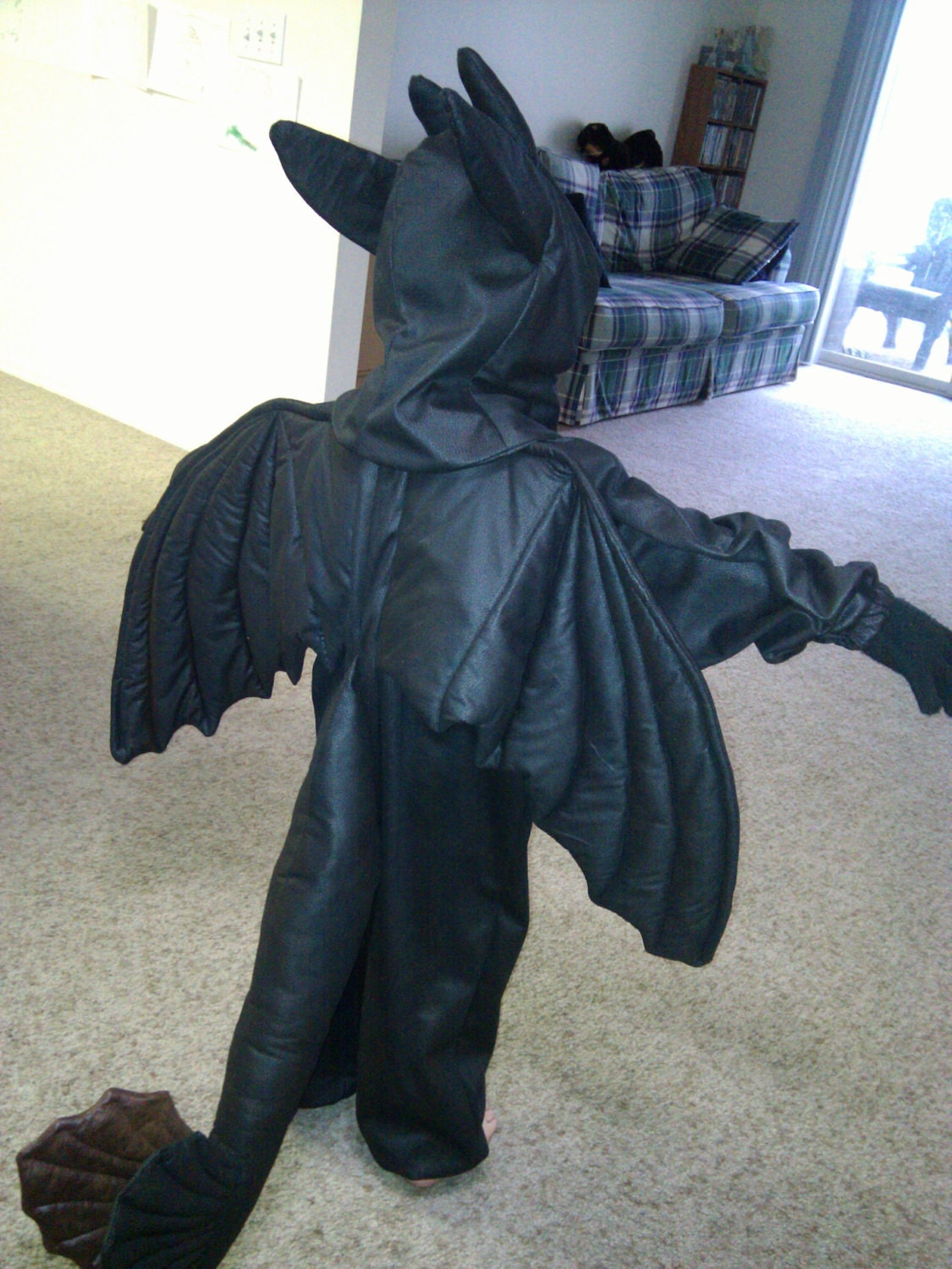 dragon costume toothless how to train your dragon