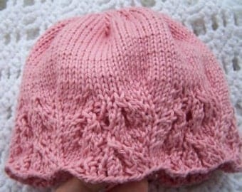 Isabella Hat Pattern for Babies and Toddlers