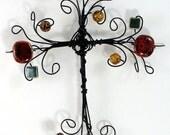 cross   Rockin Glory  wire cross