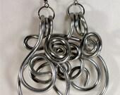 earrings------wire sassy girly girl earrings