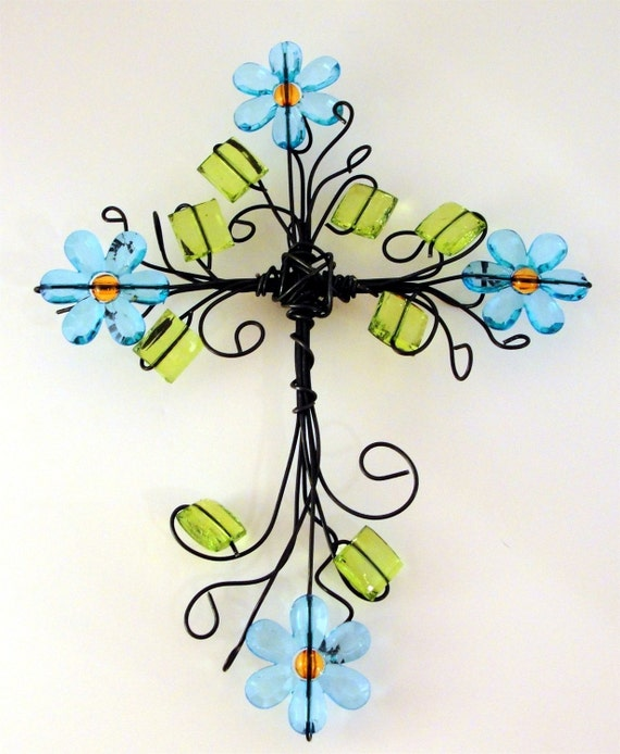 cross   Flower Power