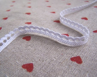 2Ys Teeny Crochet Lace Z--white(5mm)