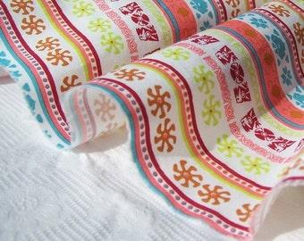 SALE/  Striped Ribbon Fabric