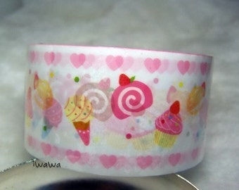Kawaii  Yummy Sweeties Deco Tape