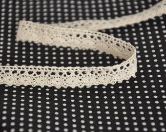 "2Ys+ Crochet Scalloped edge Lace M05(0.43""/11mm)"