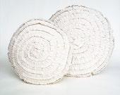 Cotton ruffle cushion 40cm - Free shipping AUS - Ready to ship