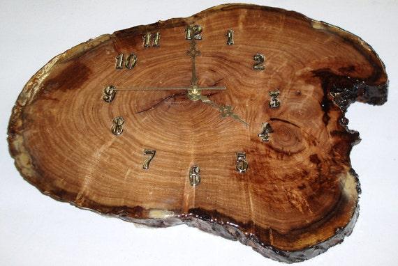 Mesquite Wood clock