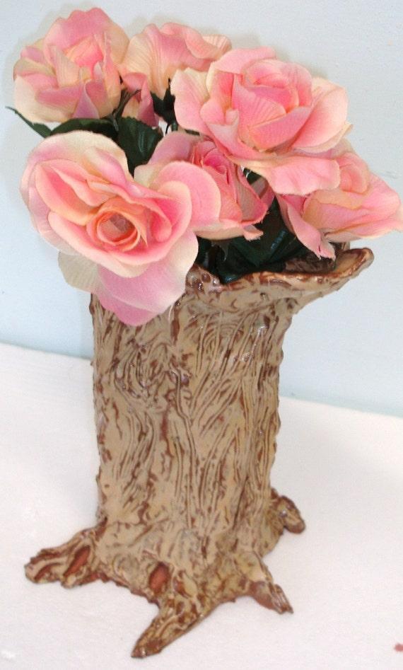 Tree Trunk Vase