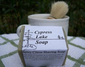 Spicy Citrus Shaving Soap