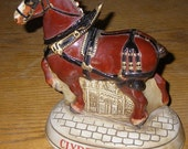 Budweiser Clydesdale Decanter