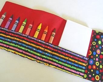 Crayon Wallet - Crazy Dots