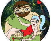 Giant Tea & Greek Goddess Artemis Lip Conditioner