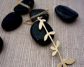 SALE Mod Flower Necklace