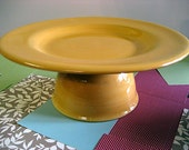 Yellow Gold Cake Stand