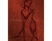 Scarlet Lady - various sizes available