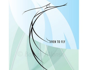 Given To Fly - various sizes available