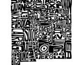 New Mexico - typography m...