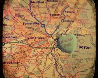 dream big boston candy heart map art 5x5 ttv photo print