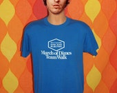 vintage t-shirt 1990 BALTIMORE march of dimes rainbow dreams tee shirt Large