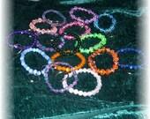 Fun Stretchy Bracelet-Style Key Fob
