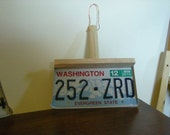 Repurposed Liscence Plate Dustpan