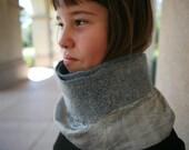 SILVER nuno scarf\/belt