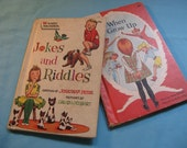 Two Vintage CHILDREN'S Wonder Easy Reader BOOKS