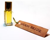 Moon Bride Perfume Oil - white and silver under a starry sky