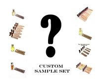 Custom Perfume Oil Sample Set by Scent by the Sea - so many delicious choices . . .