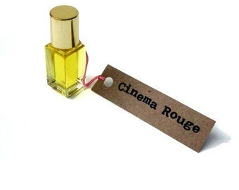 Cinema Rouge Perfume Oil - in the flickering amber shadows . . .