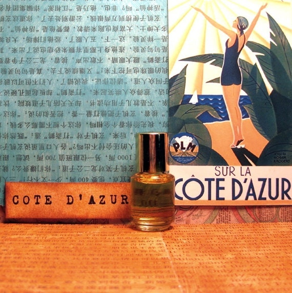 Cote d'Azur Perfume Oil - Tennis whites and champagne on the beach . . .