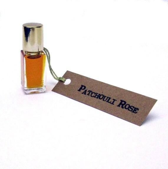 Patchouli Rose Perfume Oil - Subtle Hippie Glow
