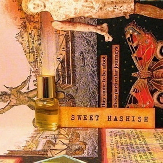 Sweet Hashish Perfume Oil . . . languid clouds of smoke curl round