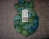 Blue Face Leicester Wool Roving