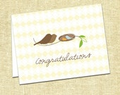 Bird Congratulations Greeting Card