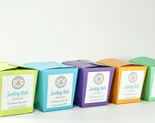 Natural Bath Salts, Mediterranean Sea Salts, Essential Oil Product, Floral and Citrus Bath Soak -- Meadow and Orchard Soothing Bath