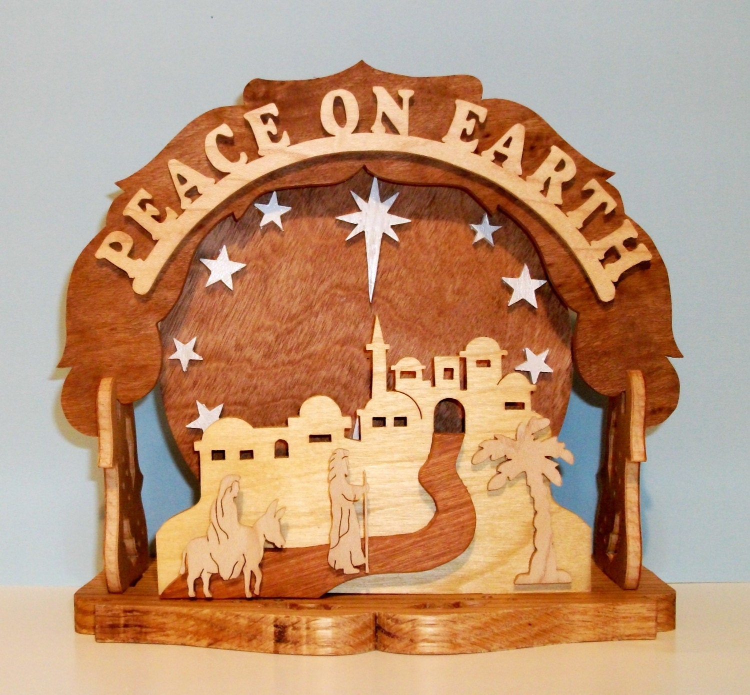 Peace on Earth Music Box Display