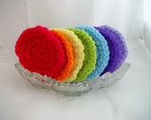 Seven Scrubbies...the Rainbow Collection
